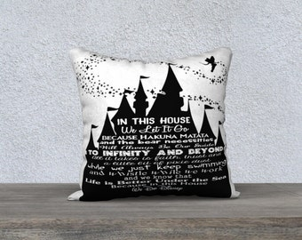 In This House Pillow Cover