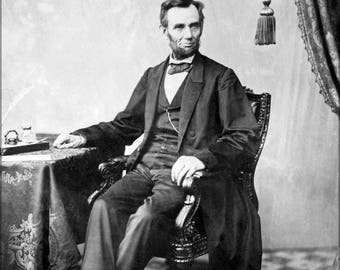 Poster, Many Sizes Available; Abraham Lincoln O 79 By Gardner, 1863 Bw