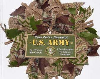 US Army Wreath