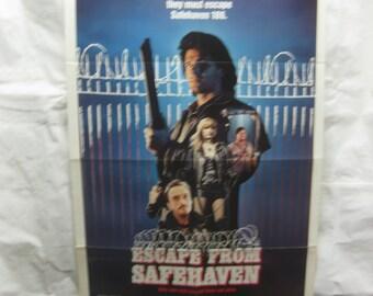 Escape From Safehaven 1988 Movie Poster mp041