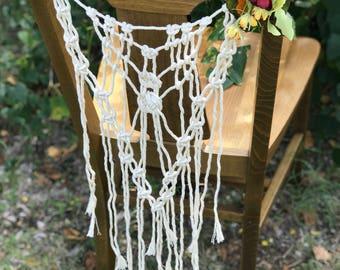Bridal Chair Backers//Bridal Decor//Wedding Decor//Boho Wedding//Boho Bride//Bride and Groom//Home Decor//Event Decor//Party Decor//