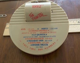 1992 AAA Memorabilia Phantom Caller Magnetic Paper Clip Holder