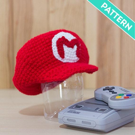 Crochet Pattern Mario Bros And Luigis Cap For