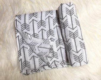 Arrow Double Gauze Swaddle Blanket