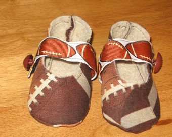 newborn unisex fabric sports baby shoes - football