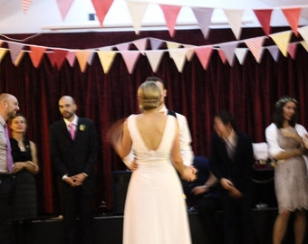 45 Metres Wedding Bunting TO HIRE