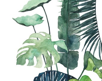 A5 Art Print / Postcard, Botanical #03, Illustration, Watercolor