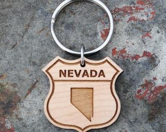 Nevada State KEYCHAIN