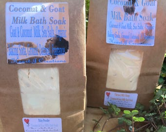 COCONUT & GOAT MILK Bath Soak