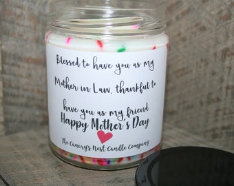 Mother in Law Candle, Mother's Day Gift for Mother in Law, Mother in Law Gift, Best Mother in Law Ever, Mother's Day Candle, Mom In Law Gift