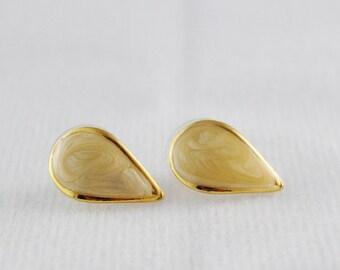 Vintage Tear Drop Earrings
