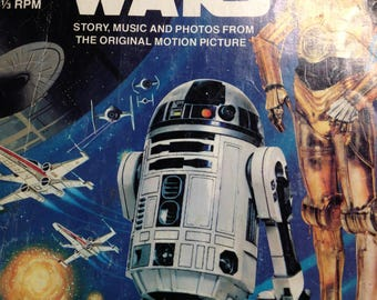 331/2 Star Wars Children's Book and Record