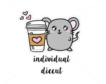 Nina loves coffee|| DIECUT (D005)