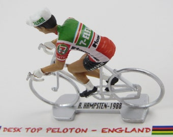 Andy Hampsten Tour de France - 7-Eleven - 1988 - Individually Handcrafted French Peloton Cycling Figure