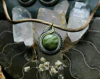 Jade Soutache Choker Necklace
