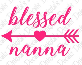 Blessed Nanna SVG/PNG for Download