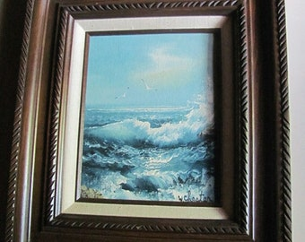 Original Seascape Painting by W.Chester