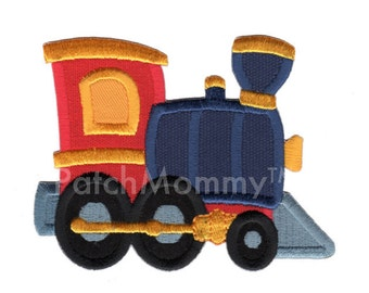 Train Iron-On Patch Applique - Kids / Baby