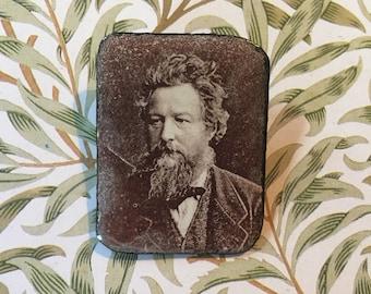 William Morris print, Morris and Co, Vintage Morris, Morris gift, Morris design, Morris jewelry, Enamel pin brooch William Morris