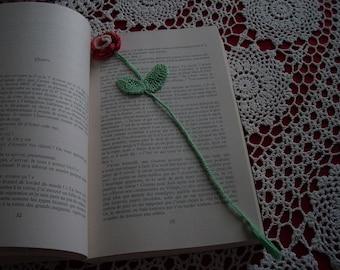 Lovely flower bookmark