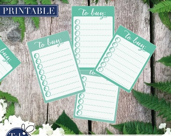 SHOPPING planner stickers printable in mint green. To BUY checklist calligraphy stickers for Erin Condren and Happy planner planner.