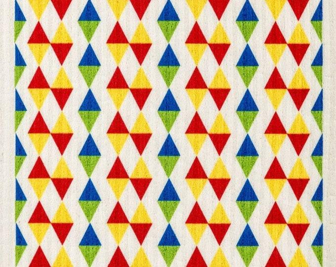 Triangles Primary Swedish Cloth