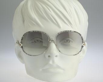 Silhouette  M 1743 C 1797, Vintage oversized round sunglasses, 80s unique and rare / NOS