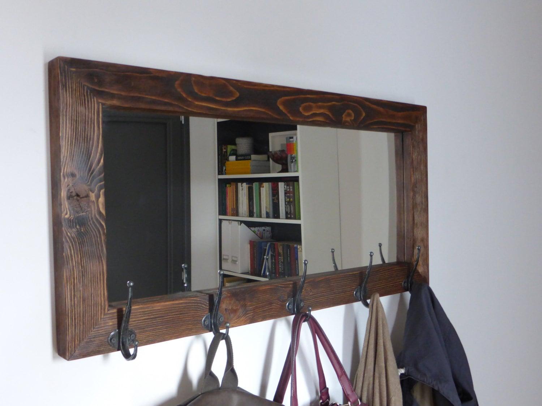 Mirror Coat Rack Entryway