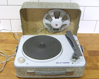 Europe Working record Player