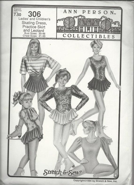 Uncut Vintage Sewing Pattern #306 - Stretch & Sew Ann Person ...