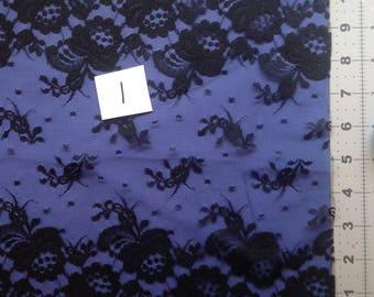 Vintage Lace Assortment, Wide Black Lace, Crafters Lace Assortment, Over 14 Yards of Lace for Crafting