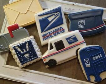 Postal Cookies - One Dozen