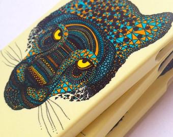 Jaguar Tiger phone case / Illustrated Animal phone case / iPhone 5 / iPhone 6 / iPhone SE / SALE