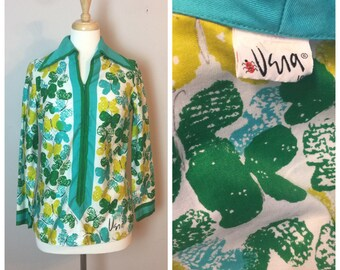 Vera Butterfly Tunic Top S