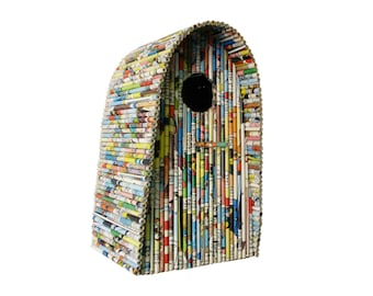 "Birdhouse ""Igloo"" - Paper Sculpture"