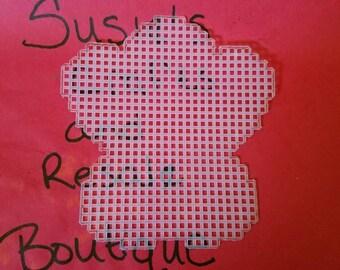 Precut plastic canvas butterfly 3