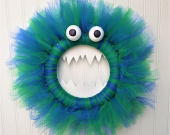 Monster Wreath - Made in the Color(s) of Your Choice!