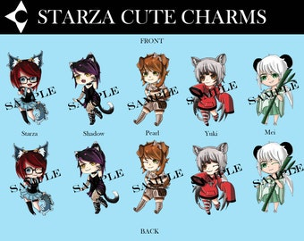 Starza Cute Charms + Original drawing