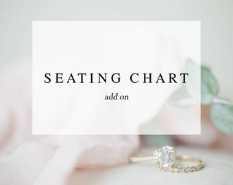 Seating Chart Add On - Made to Match