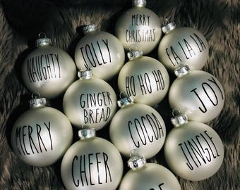 Dunn Inspired Ornaments