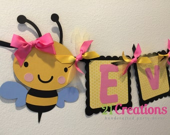 Bumble Bee Party Banner