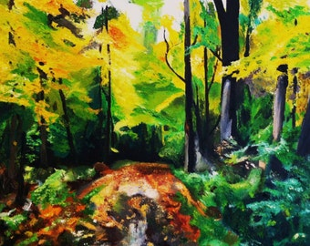 """Walk in the Woods 11x14"""" Archival Print"""