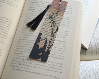 Beautiful Handmade Jazz Man Bookmark