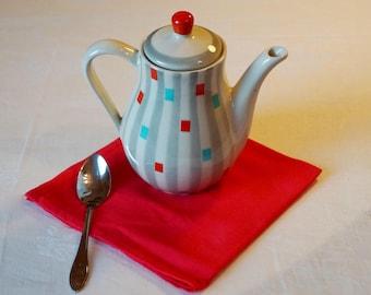 Teapot, coffee pot, vintage, 40s, retro, tableware, kitchen, decor