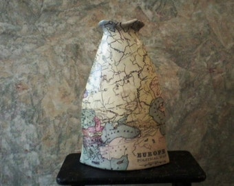 Map Vase