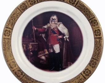 "King Chewbacca III Portrait Plate 6.25"""