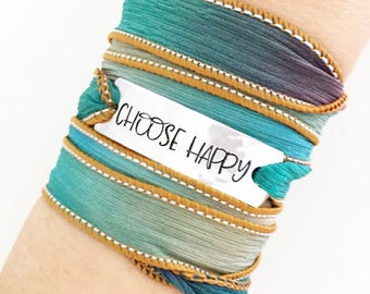 Choose Happy, Gifts For Her, Gifts For Mom, Inspirational Gifts, Encouragement Gifts, Encourage Jewelry