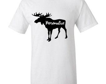 Customized Moose T Shirt