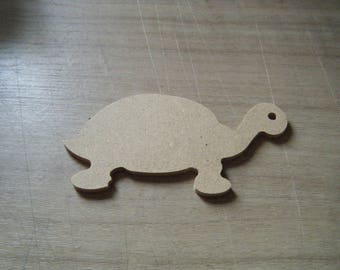 turtle in medium to paint or collage for room decoration or garden decoration