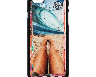 iPhone 6s/6, iPhone 6s/6 Plus Case, BEACH DAYS, iPhone 6s Plus, Hawaii, Beach, Tropical, Aloha, Collage, Avail w Black or White case color